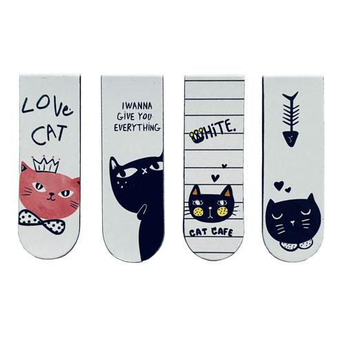Boekenlegger | Magnetisch | Katten | Casual Cats