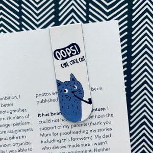 Boekenlegger | Magnetisch | Katten | Crazy Cats | C