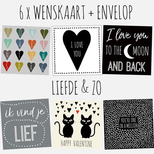 HOUSE OF LOLA | set kaarten | liefde & zo