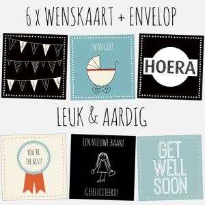HOUSE OF LOLA | set kaarten | leuk & aardig