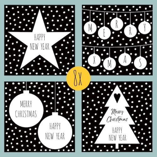 HOUSE OF LOLA | set | Witte Kerst