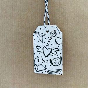 cadeaulabel | doodle love