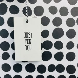 cadeaulabel | just for you