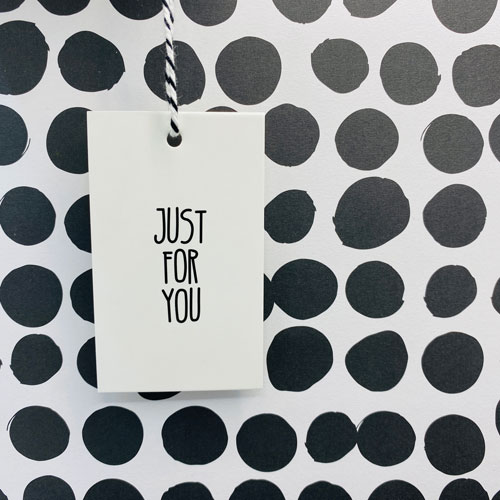 cadeaulabel   just for you