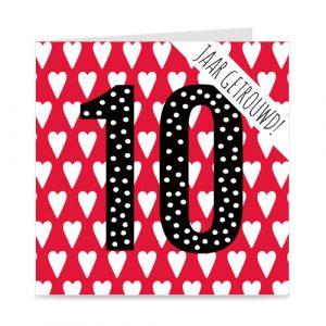 jubileum: 10 jaar getrouwd