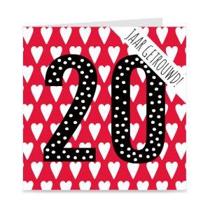jubileum: 20 jaar getrouwd