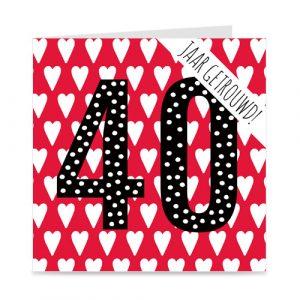 jubileum: 40 jaar getrouwd