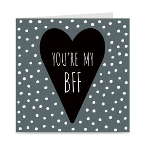 kaart: you're my BFF