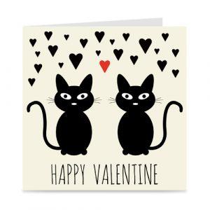 valentijnskaart: happy valentine