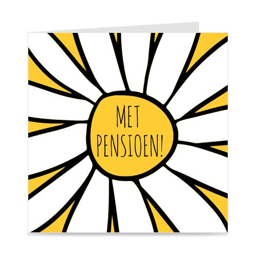 kaart: met pensioen