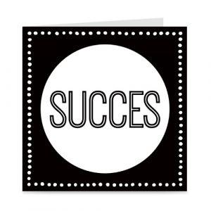 stoere kaart: succes