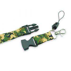 keycord | sleutelkoord | camouflage