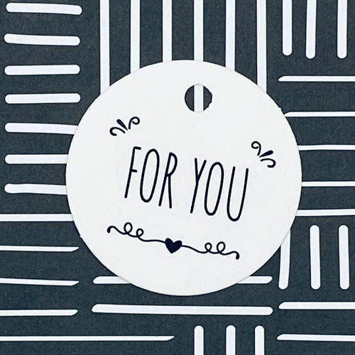 label | for you | rond