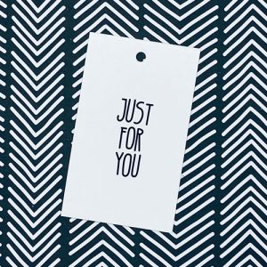 label | just for you