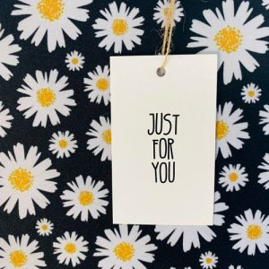 label | karton | just for you