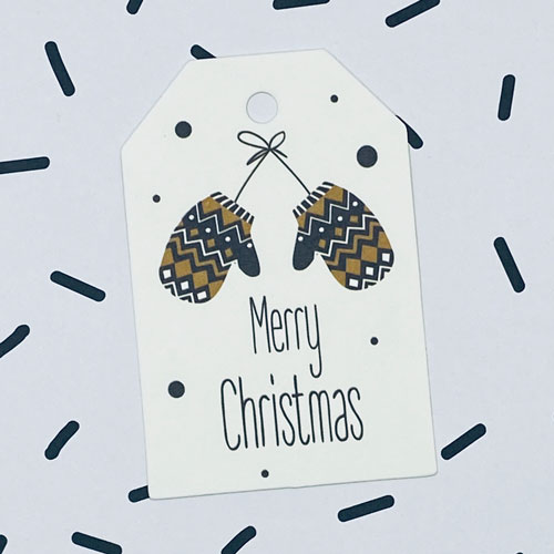 label | kerst | merry christmas | wanten