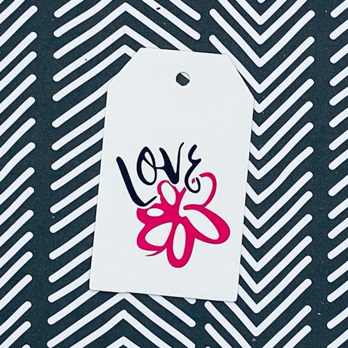 label | love | roze