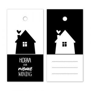 label | nieuwe woning