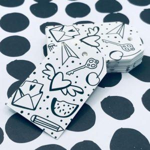 labels | doodles