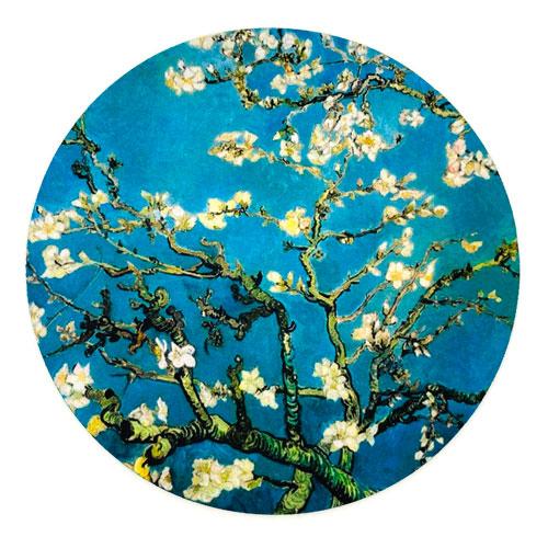 muismat | blossom | blue