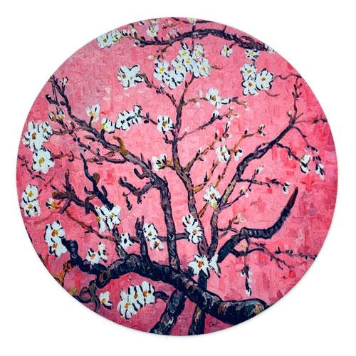 muismat   blossom   pink