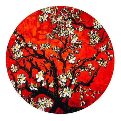 muismat | blossom | red