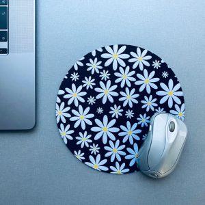 muismat / mousepad   bloemen   madelief