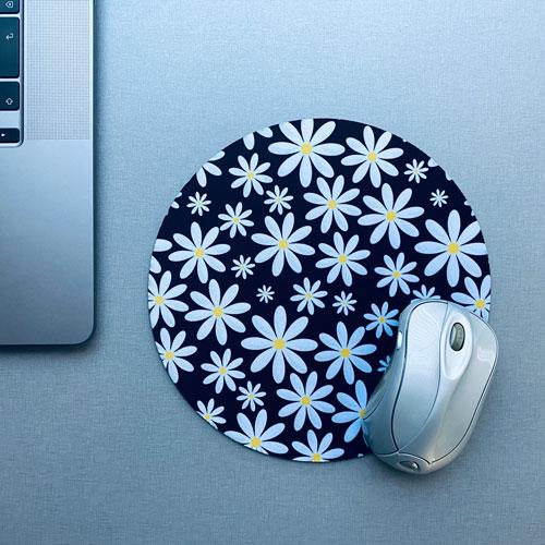 muismat / mousepad | bloemen | madelief