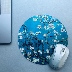 muismat / mousepad | blossom | blue