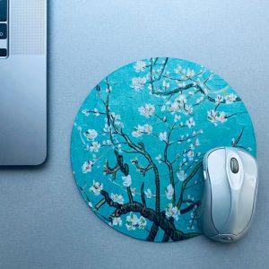 muismat / mousepad | blossom | green