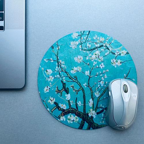 muismat / mousepad   blossom   green