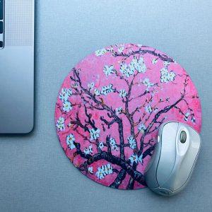 muismat / mousepad | blossom | pink
