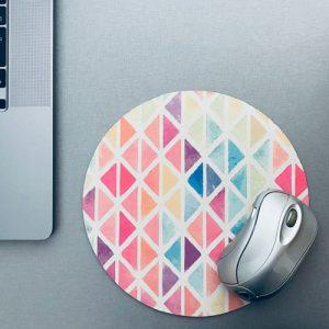 muismat / mousepad | grafisch | happy colors