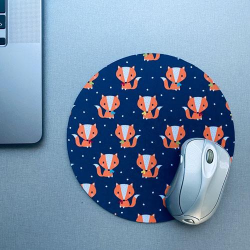 muismat / mousepad | vosjes