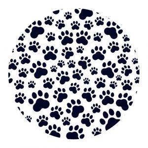 muismat | pootafdrukken | hond-kat