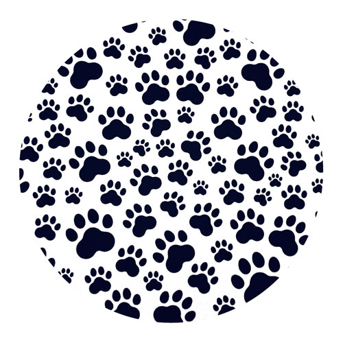 muismat   pootafdrukken   hond-kat