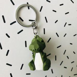sleutelhanger | dino | groen