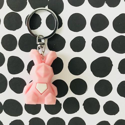 sleutelhanger | konijn | roze