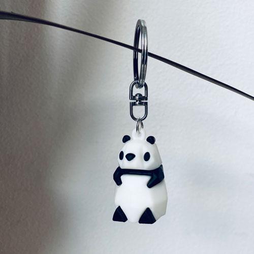 sleutelhanger | panda