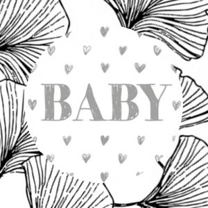 sticker | baby | hartjes