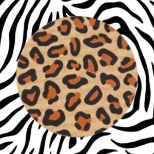 sticker | dierenprint | panter | bruin