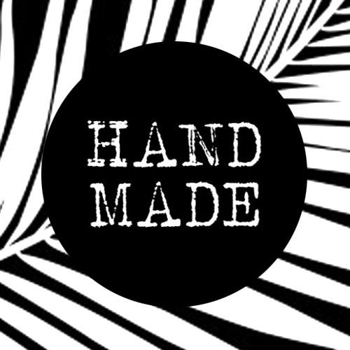 sticker | handmade | zwart-wit