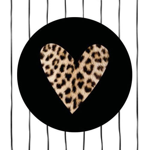 sticker | hartje | panterprint