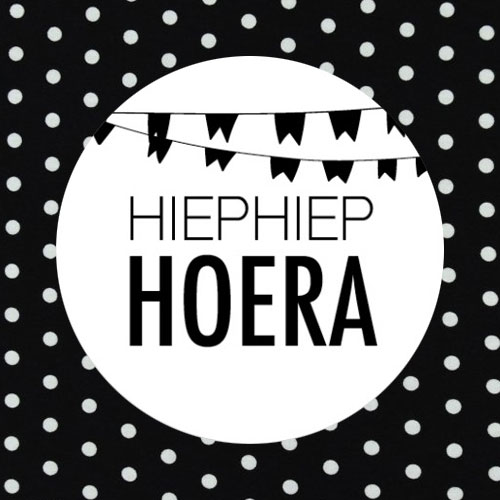 sticker | hiephiep hoera