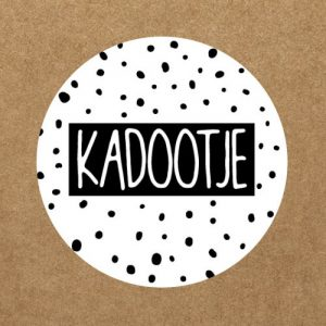 sticker | kadootje
