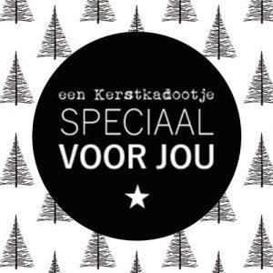 sticker | kerst | een kerstkadootje speciaal voor jou