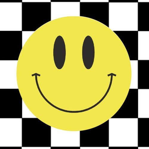sticker | smiley | geel