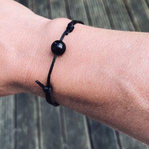 verstelbaar armbandje | black angel