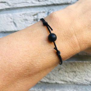 verstelbaar armbandje | black fox