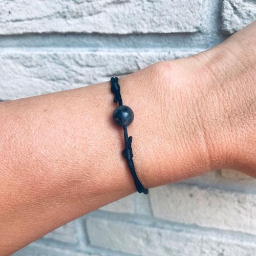verstelbaar armbandje | black spirit